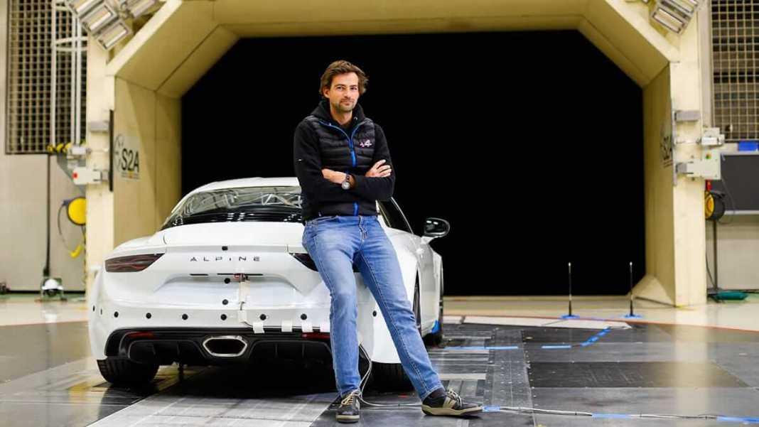 Comment l'Alpine A110 profite de l'aérodynamisme de l'Alpine F1
