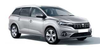 Dacia Logan 2022 7 places