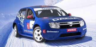 Dacia Duster ICE RACER