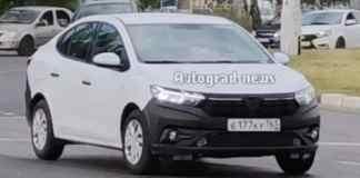 Renault Logan - crédit image Avtograd News