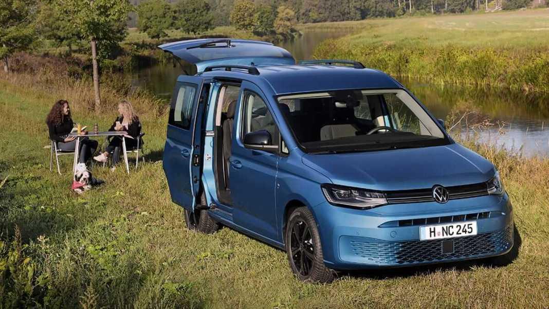 Volkswagen Caddy California Camping