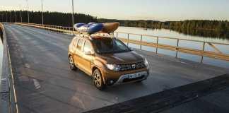 Dacia Duster Mission Kayak Laponie