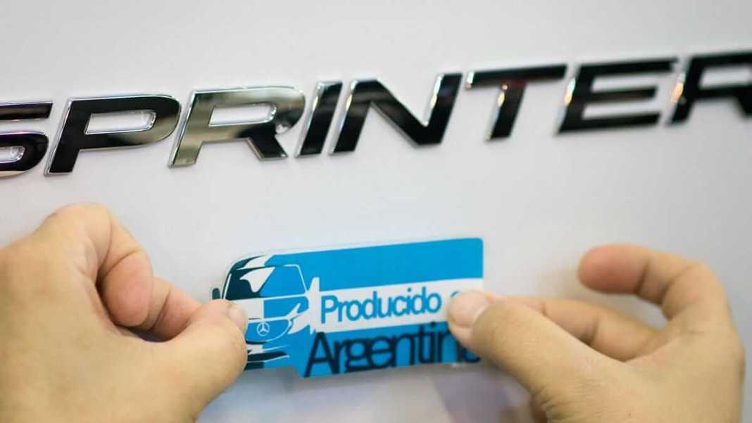 Mercedes-Benz Sprinter Argentine