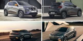 Dacia Spring et Renault Mégane électrique