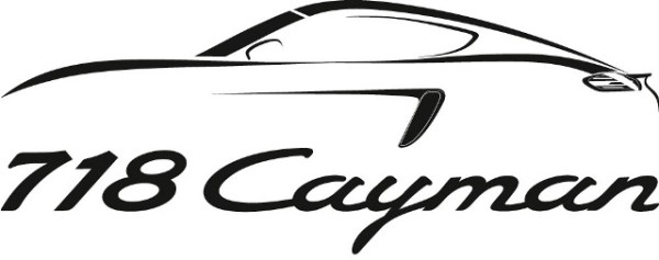 """Porsche reveló que sus modelos de motor central, el Boxster y el Cayman serán agrupados bajo una sola línea llamada """"718"""". A partir del 2016 el modelo cupé se llamará 718 Cayman y el roadster, 718 Boxster."""