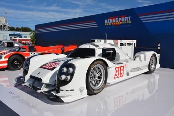 El actual campeón de Le Mans, el Porsche 919 Hybrid, tiene un motor de tan solo cuatro cilindros. FOTO: Andrés O'Neill, Jr.