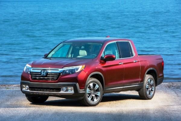 La segunda generación de la Honda Ridgeline, cuyos precios comienzan en $38,086, tiene una apariencia más convencional que la de modelo original. FOTOS: Honda