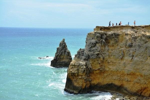 Los acantilados de Cabo Rojo