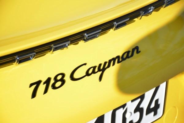 Tanto el Cayman, como el descapotable Boxster llevan el prefijo 718 como parte de sus nombres.