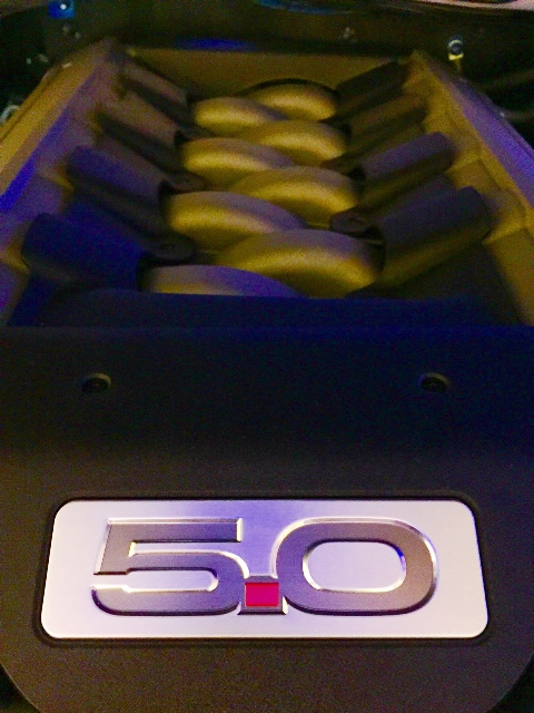 El motor V8 de 5.0 litros del Mustang GT
