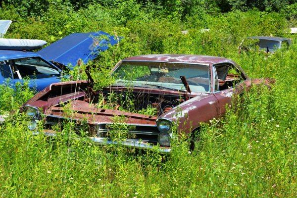 Como para echarse a llorar: un Pontiac Tempest de 1965.