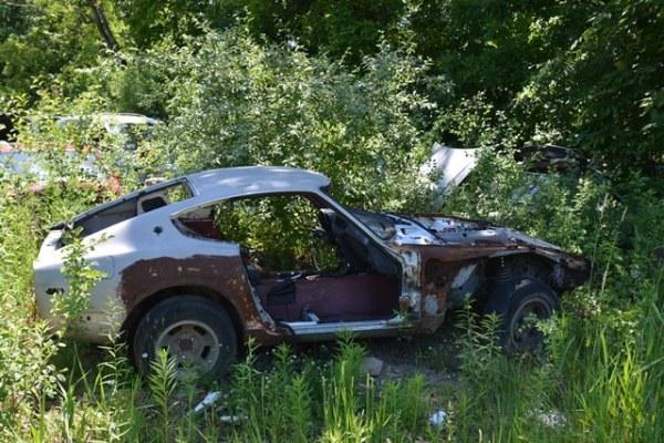 ¿Quiénes de ustedes rescatarían este Datsun 240Z?