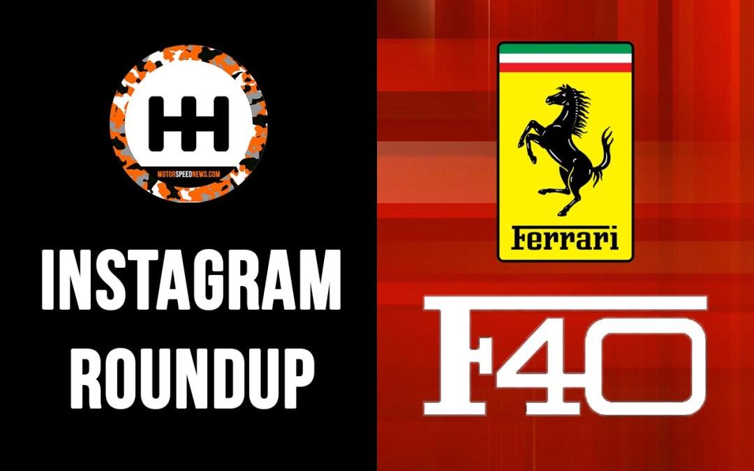 Instagram Roundup | The Ferrari F40