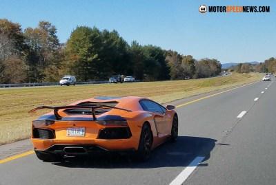 Motor Speed News Photography - Lamborghini Aventador In VA
