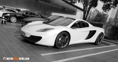 Motor Speed News Photography - McLaren in China