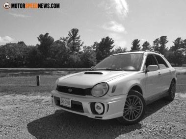 Motor Speed News Photography - Subaru WRX wagon 1