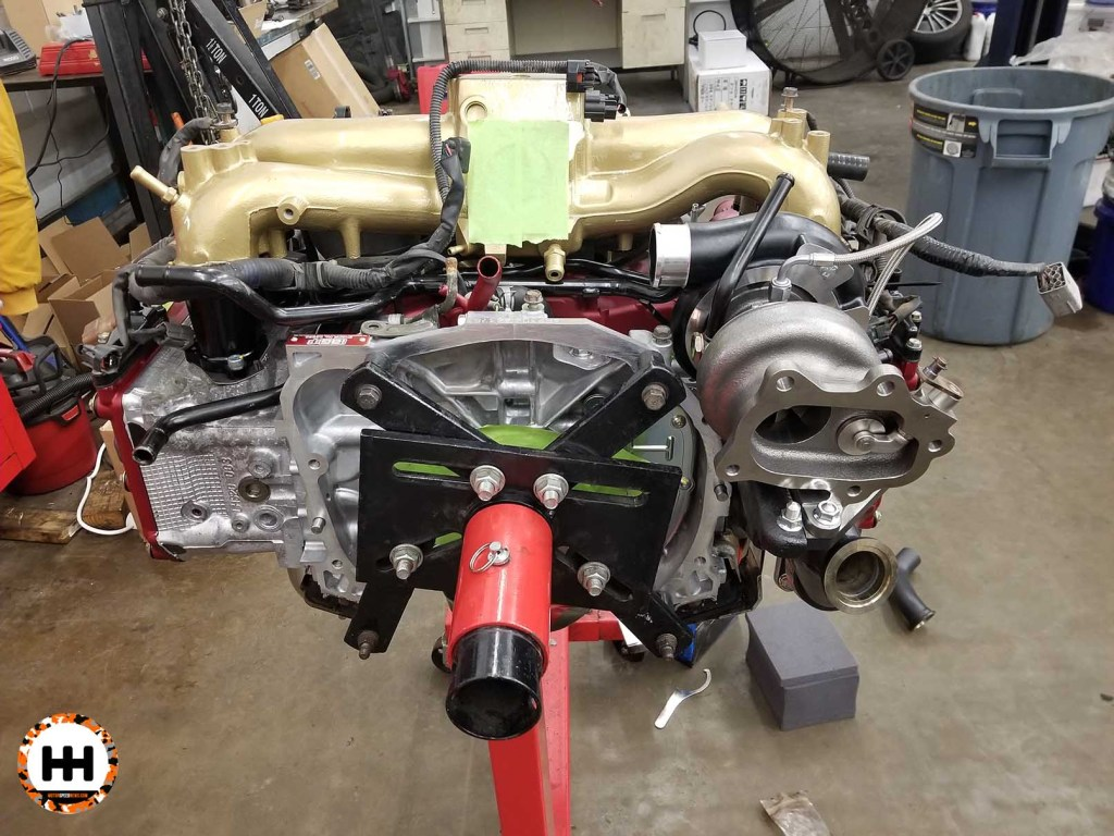 IAG Short Block Engine Build - Wills WRX Wagon