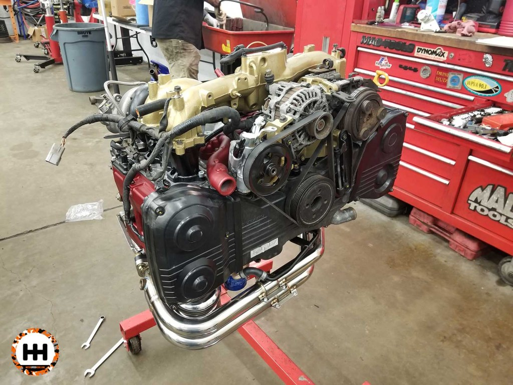 IAG Short Block Engine Build - Wills WRX Wagon - Image 2