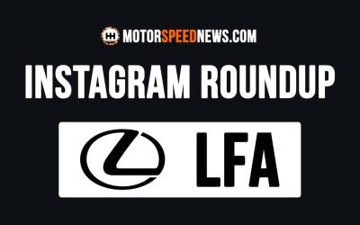 Instagram Roundup | The Lexus V10 LFA