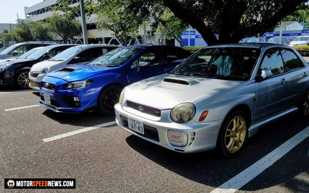 Mitaka Subaru In Japan - Bugeye WRX