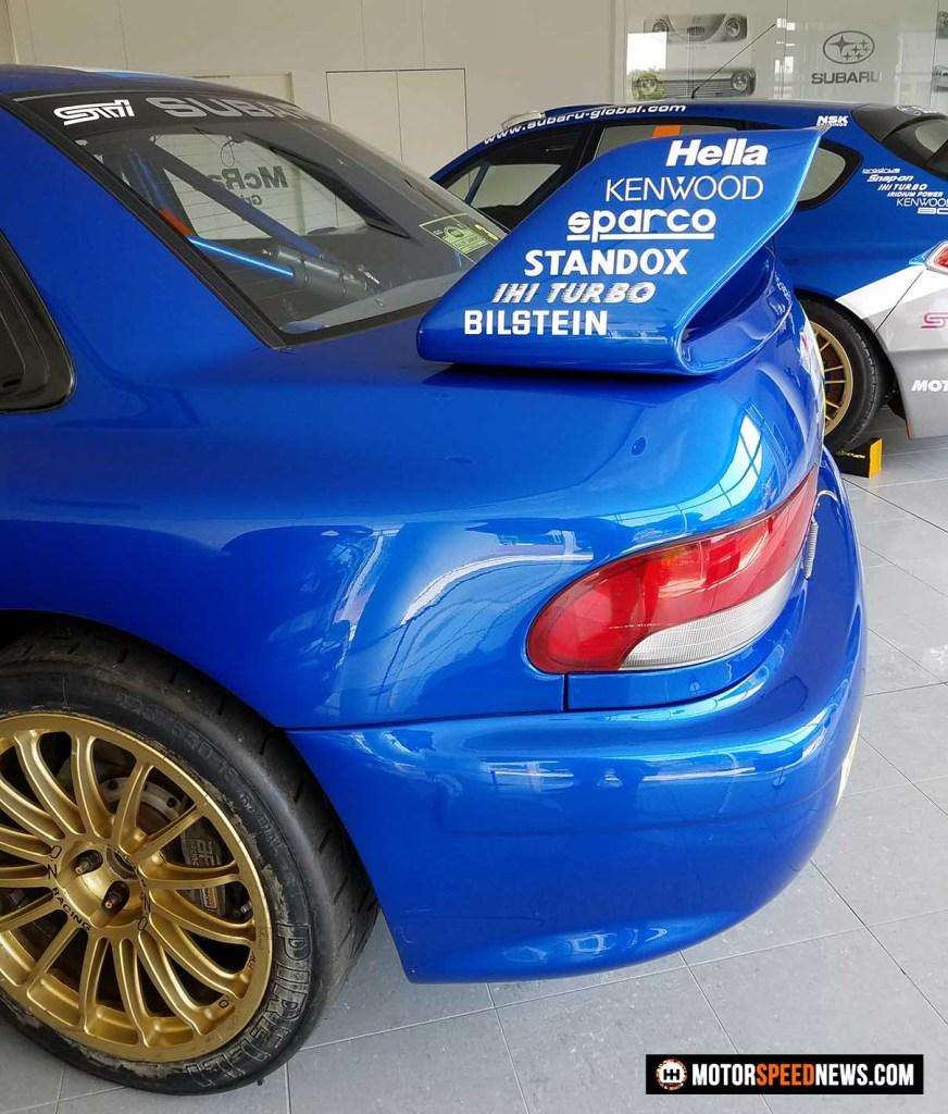 Mitaka Subaru In Japan - Colin McRaes Rally Car - image 2