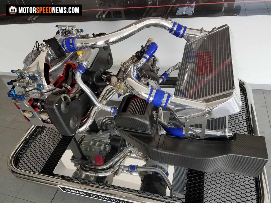Mitaka Subaru In Japan - Subaru GT300 EJ20 Engine