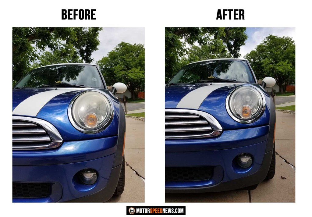 Adams Polishes Headlight Restoration Kit Review - Mini Cooper