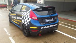 Alistair Kellett in pitland at Silverstone. Image from William Kellett.