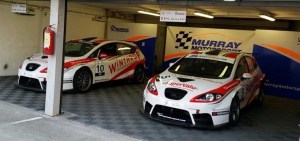 Murray Motorsport's setup for the weekend with Cullen & English's SEATS ready to go!