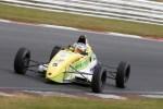 Jonny McMullan charged into a commanding BRSCC National Formula