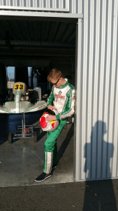 14 year old Daniel Harper from Anahilt at Le Mans this            week