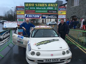 Crossmolina's John Duffy & John Egan 2nd in Class 3 Pic Andy Wals