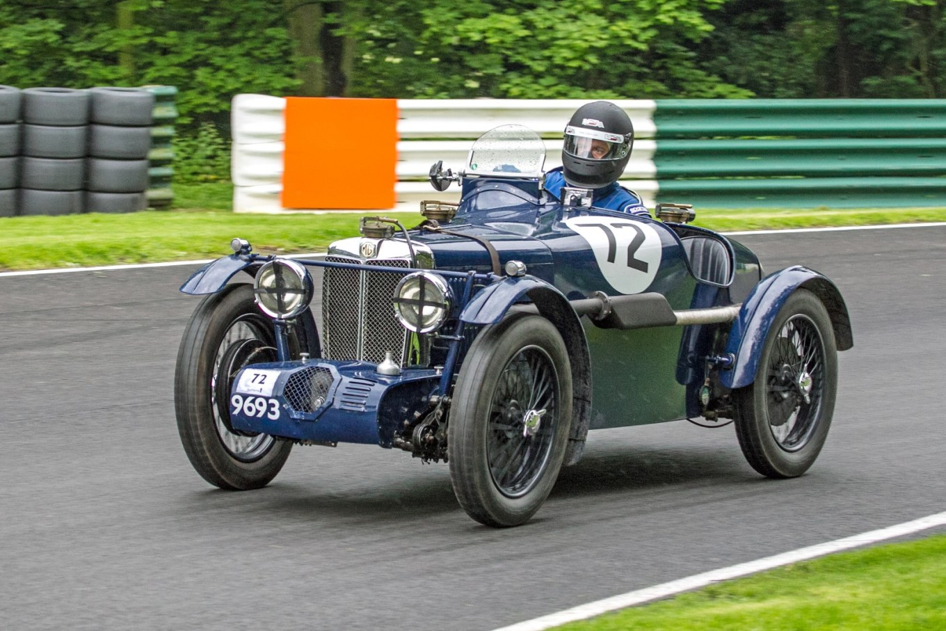 Duncan Potter, 746cc Supercharged MG, C Type