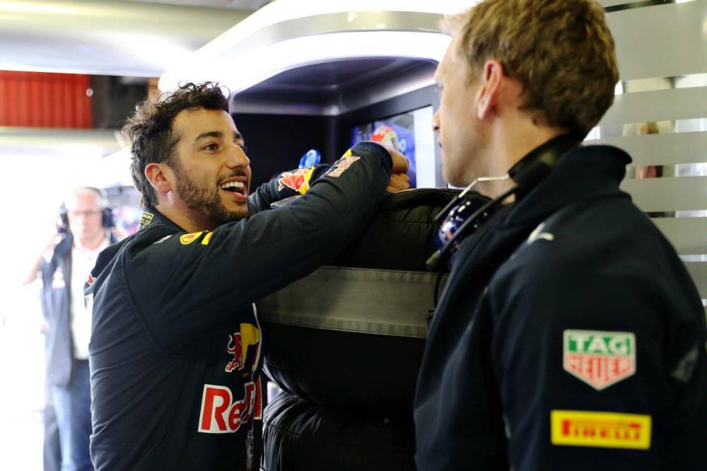 Ricciardo Spanish FP