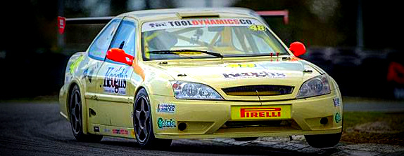 The Keoghs Farm car which Turkington will drive this weekend. Image from Chester.ie