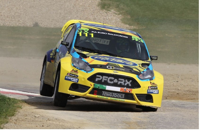 Expect double European Rallycross Champion Derek Tohill to take on the best Rally drivers in the country in his Fiesta Supercar