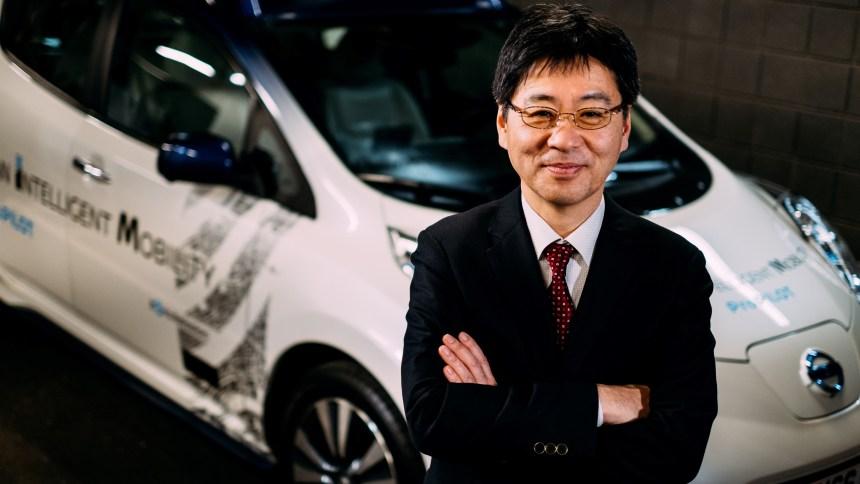 Tetsuya Iijima, General Manager, Autonomous Drive Development