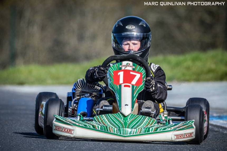 Michael Gray, Junior Cadet Iame