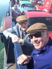 Merc On The Ferry