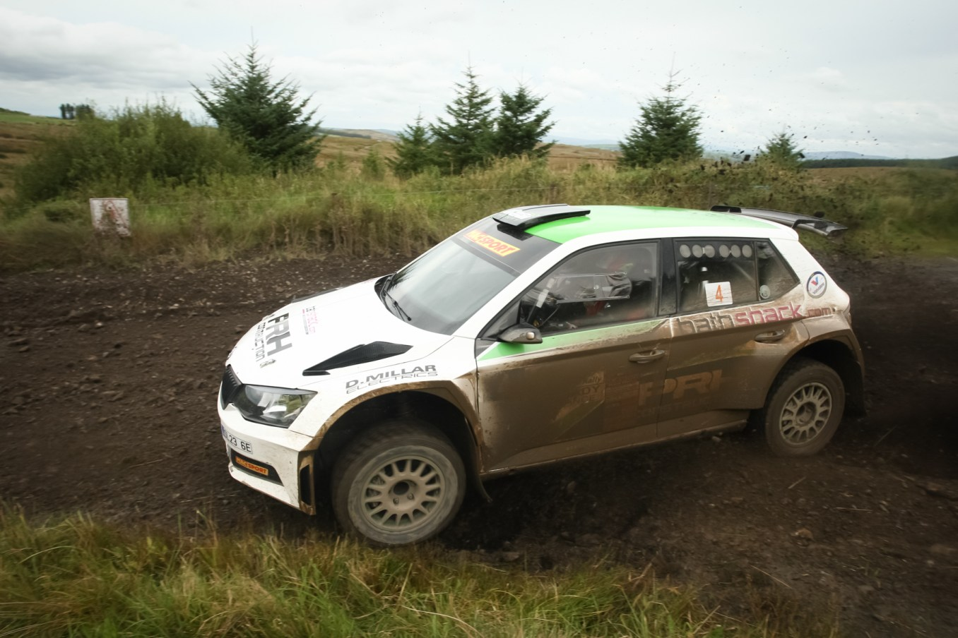 Desi Henry - Overall Bushwacker Rally Winner in his Skoda Fabia R5 (1)