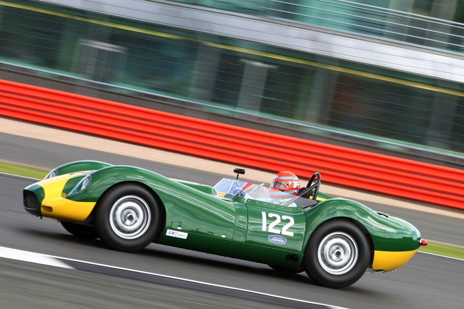 Silverstone Classic 28-30 July 2017 At the Home of British Motorsport Stirling Moss pre 61 Sports cars HARRIS Tom, NEEDELL Tiff, Lister Jaguar Knobbly Free for editorial use only Photo credit – JEP