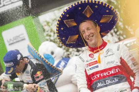 Kris Meeke won in Mexico
