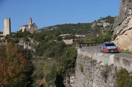 Rally Spain has asphalt and gravel stages