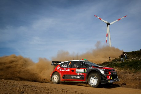 2017 FIA World Rally Championship, Round 07, Rally Italia Sardegna, June 8-11, 2017, Craig Breen, Citroen, action Worldwide Copyright: McKlein/LAT