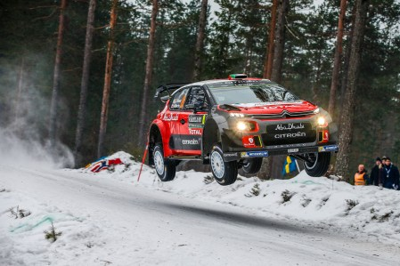 2017 FIA World Rally Championship, Round 02, Rally Sweden, February 09-12, 2017, Craig Green, Citroen, Action Worldwide Copyright: McKlein/LAT