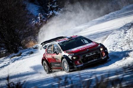2017 FIA World Rally Championship, Round 01, Rally Monte Carlo, January 18-22, 2017, Stephane Lefebvre, Citroen, Action Worldwide Copyright: McKlein/LAT