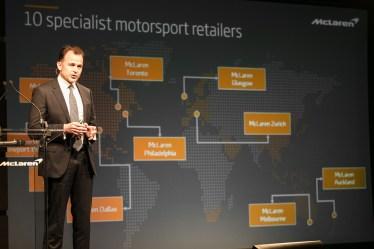 McLaren Automotive motorsport Press Conference 21st November 2017