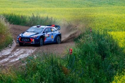 2017 FIA World Rally Championship, Round 08, Rally Poland / June 29 - July 2 2017, Thierry Neuville, Hyundai, action, Worldwide Copyright: McKlein/LAT