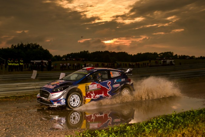 2017 FIA World Rally Championship, Round 08, Rally Poland / June 29 - July 2 2017, Sebastien Ogier, Ford, action, Worldwide Copyright: McKlein/LAT