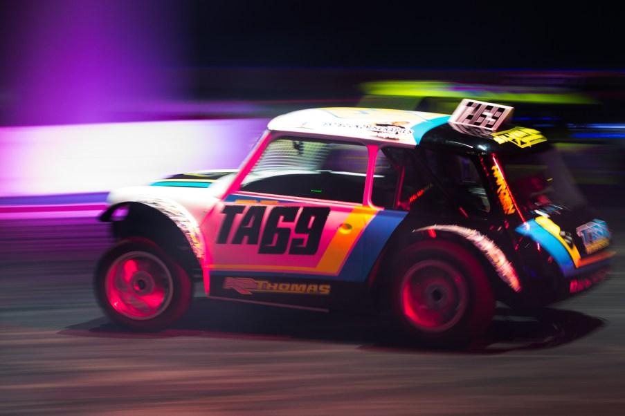 Autosport International Exhibition. National Exhibition Centre, Birmingham, UK. Sunday 15 January 2017. Racing in the Live Action Arena. World Copyright: Joe Portlock/LAT Images Ref: _14P4566